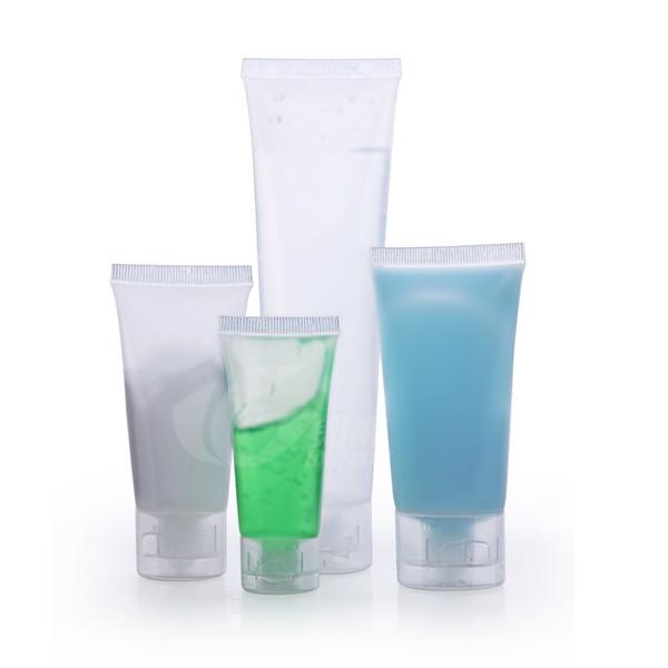 磨砂軟管 15--100g 翻蓋 洗面乳 護手霜 空瓶 擠壓瓶 透明塑膠 軟管空瓶 護手霜瓶【卡司蒙】保證現貨