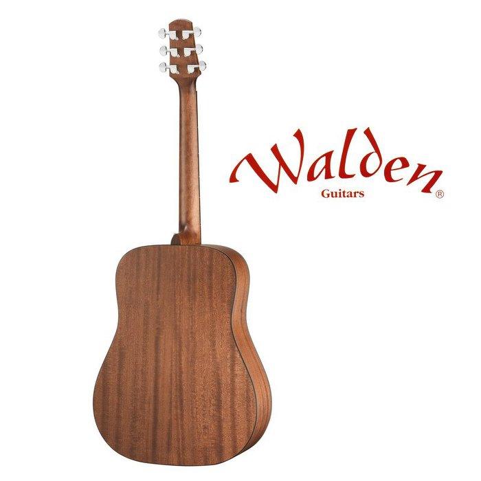 分期免運 Walden NATURA D550E 西卡雲杉 面單板 41吋 D 桶身 民謠吉他 電木吉他【唐尼樂器】