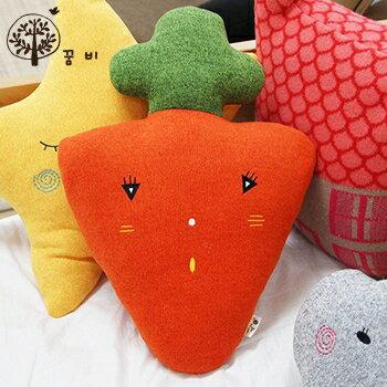 【淘氣寶寶】韓國DreamB立體造型抱枕-胡蘿蔔【100%韓國製造,可當靠枕使用】
