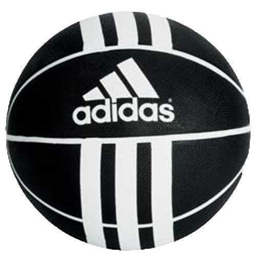 Adidas 3S RUBBER X 籃球 7號 黑 白~ 世界~279008