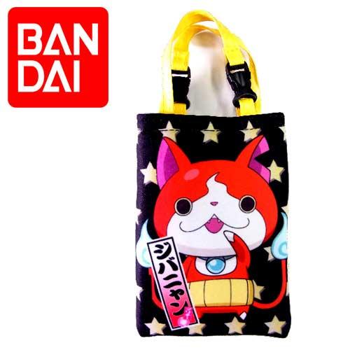 【日本進口正版】 萬代 BANDAI 妖怪手錶 吉胖喵 防震 手機套 手機袋 數位相機包 - 318384