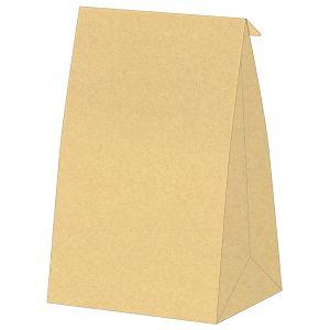 牛皮紙立體袋 A4(24×34×4cm)