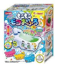 日本heart株式會社浴缸造型手做浴缸清涼飲料[附玩具] 真的是飲料喔 小朋友的飲料要喝自己DIY 好玩