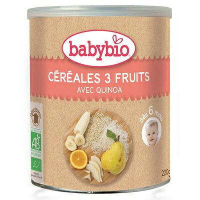 babybio 有機寶寶米精-水果220g