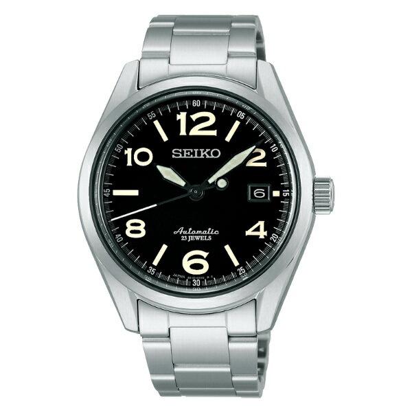 Seiko Presage 6R15-02R0D(SARG009J)城市經典機械腕錶/黑面40mm