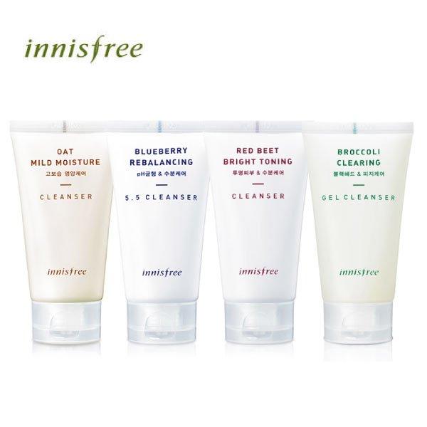韓國innisfree鮮果系列洗面乳100ml洗臉凝膠潔面乳【櫻桃飾品】【20547】
