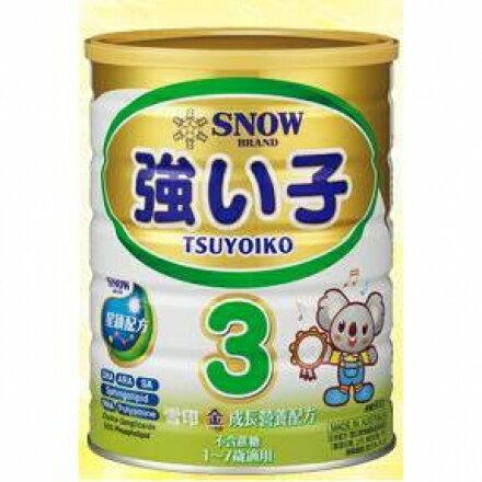 【裕良連鎖藥局】雪印金成長營養配方1-7歲900g-雪印