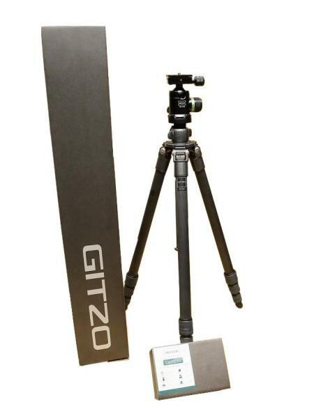 GITZO GT1541+Skyler SH1030 碳纖三腳架套組 送腳架袋 文祥公司貨 含稅免運費