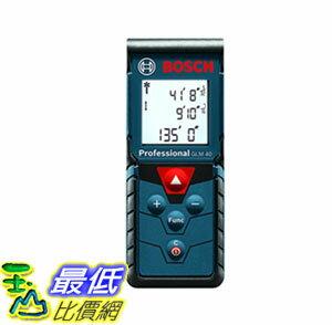 [107美國直購] 雷射測距儀 Bosch GLM 40 Laser Measure, 135 Feet