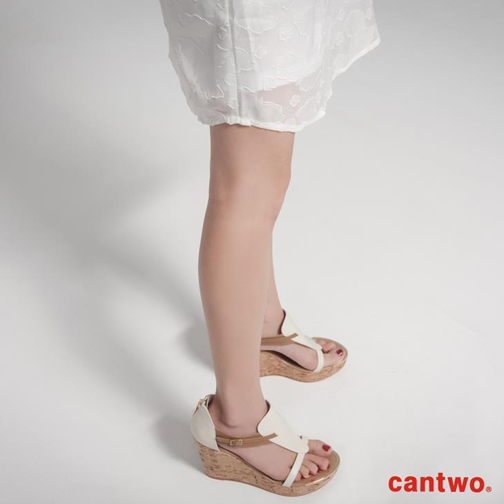 cantwo氣質剪花雪紡洋裝(共二色) 5