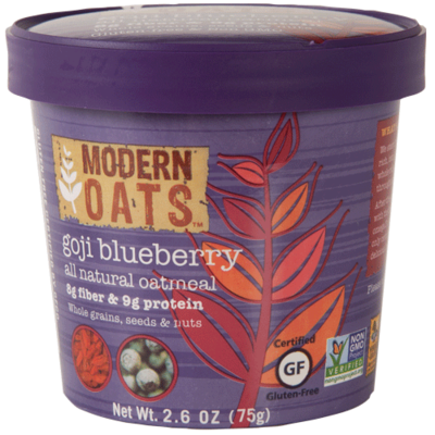 Goji Blueberry Oat Meal Cups 12's Modern Oats e2646893c14dce583f32ab9fdae99ef9