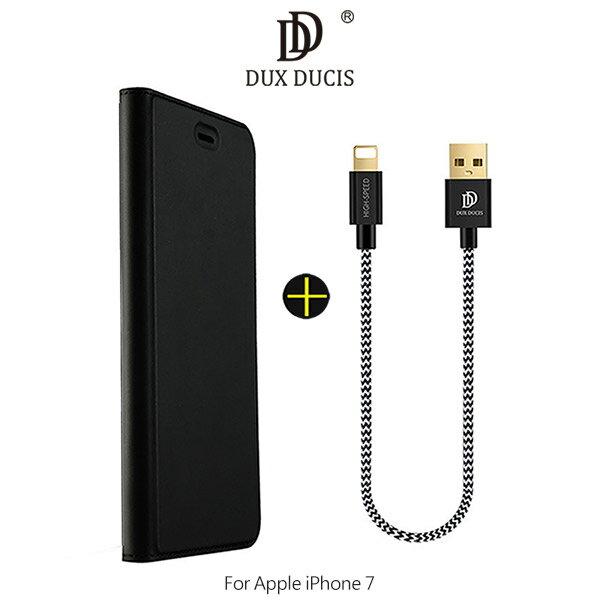 強尼拍賣~DUXDUCISAppleiPhone784.7吋黃金組合(皮套+線)超值組