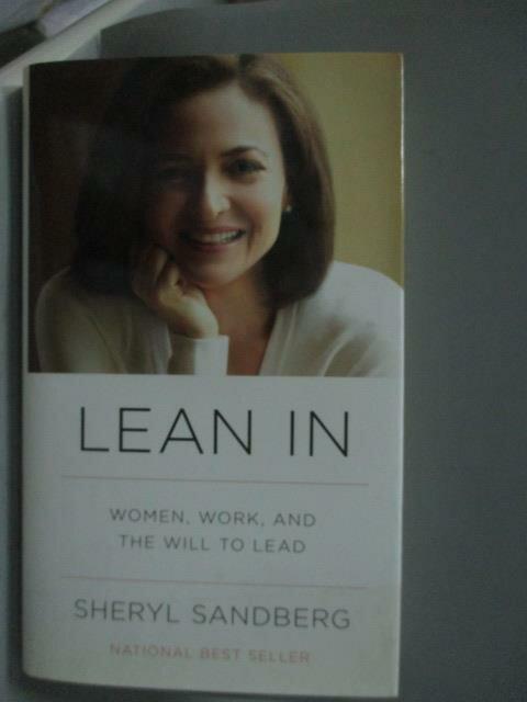 ~書寶 書T1/傳記_XBP~Lean In~Women Work and the Wil