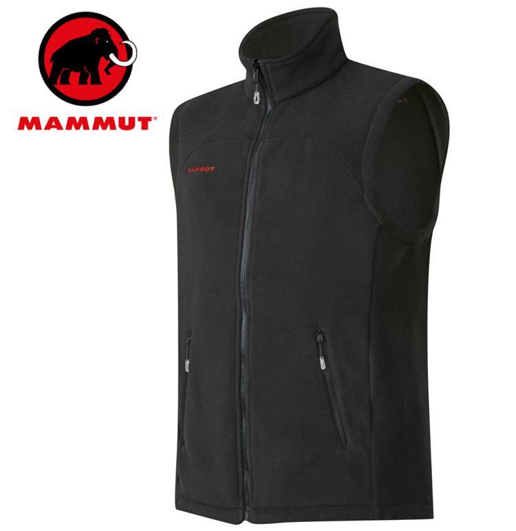 Mammut 長毛象 刷毛背心/保暖中層背心 Innominata Adv ML Vest 男款1010-21810-0001黑色