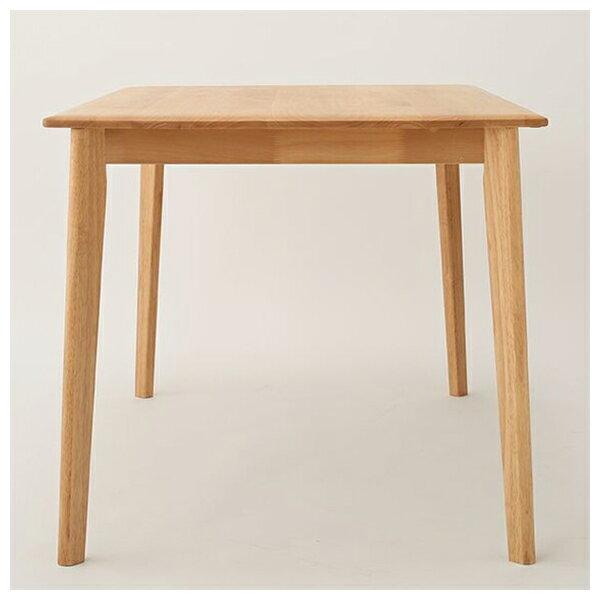 ◎實木餐桌 ALNUS 18080 LBR 榿木 NITORI宜得利家居 1