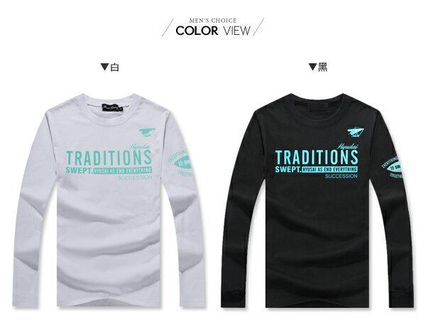 ☆BOY-2☆【ND5866】美式潮流英文長T恤 2