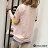 F-DNA★不對襯撞色滾邊縷空袖細條紋短袖上衣T恤(2色-M-2XL)【ETD2269】 1