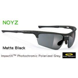 『凹凸眼鏡』義大利 Rudy Project Noyz-Sailing Matte Black(偏光變色片-Grey)系列~海上活動專用~六期零利率