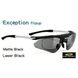 【凹凸眼鏡】義大利 Rudy Project Exception STD系列(MATTE BLACK/LaserBlack)~ 可配度數配到好~六期零利率