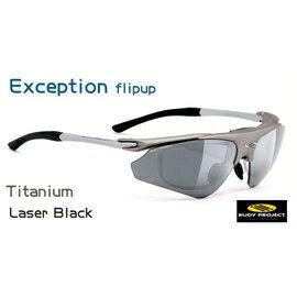 【凹凸眼鏡】義大利 Rudy Project Exception STD系列(Titanium/LaserBlack)~ 可配度數配到好~六期零利率