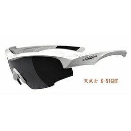 【凹凸眼鏡】ADHOC-K-NIGHT-W軍用級運動PZ偏光太陽眼鏡(白色)~加贈夜視鏡片(黃片)~~六期零利率~