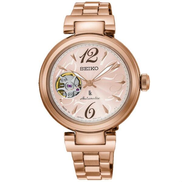 Seiko精工錶Lukia系列4R38-01L0C(SSA806J1)熱愛生活限量款時尚機械腕錶34mm