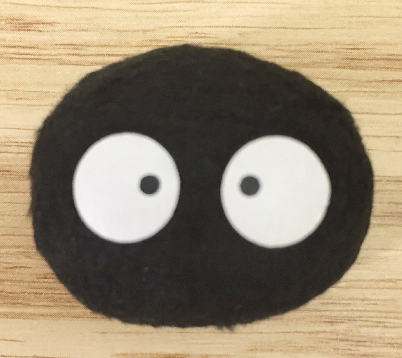 【真愛 】16041700039 Q版娃娃 磁鐵-小黑炭鬼  龍貓 TOTORO 豆豆龍 文具