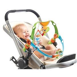 【淘氣寶寶●同價位商品 第二件 66折】Tiny Love 雙層狗多功能吊飾/嬰兒手推車汽座提籃夾置玩具