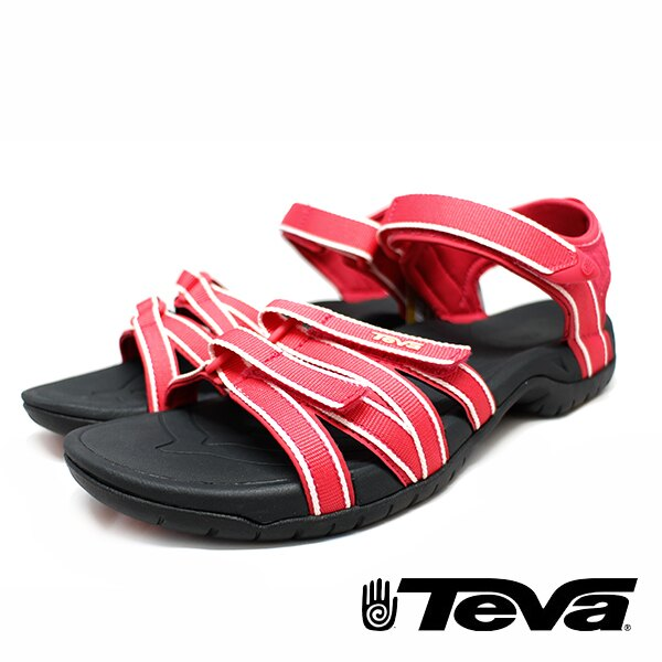 【TEVA 促銷8折│全店免運】】TEVA 美國 女 Tirra 機能運動涼鞋 覆盆莓紅-TV4266RDSH