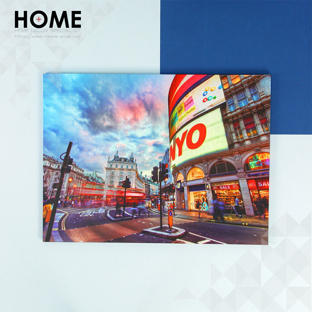 HomePlus 無框畫 Piccadilly Circus 30x40cm IKEA 室