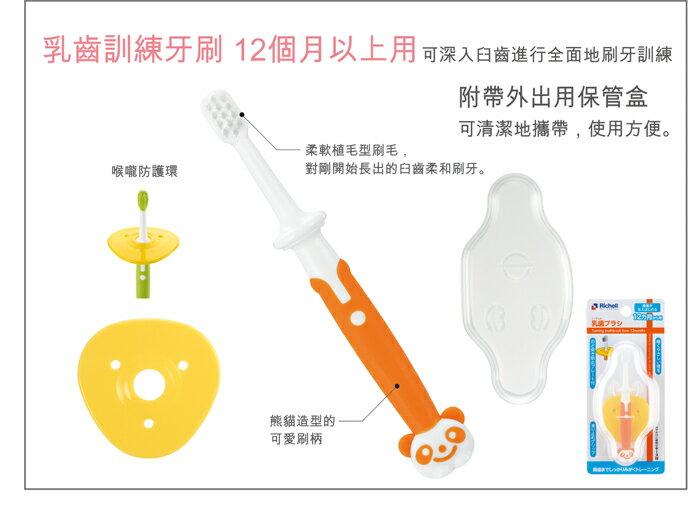 Richell利其爾 - 乳牙訓練牙刷 (12個月以上用) 2