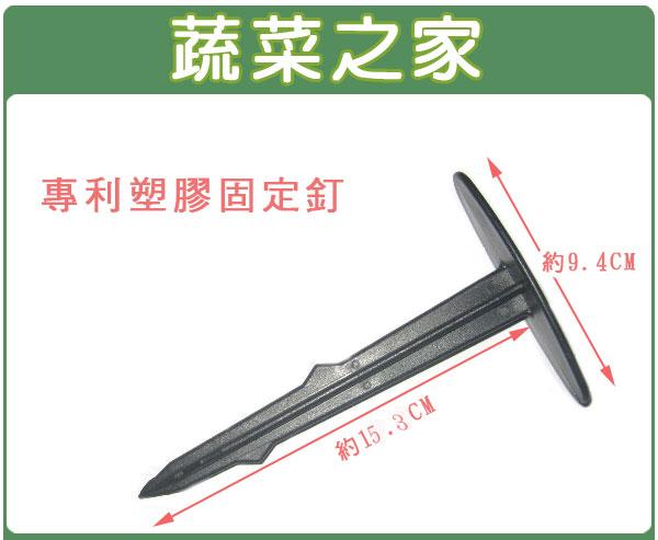 【蔬菜之家】專利塑膠固定釘(塑膠釘)