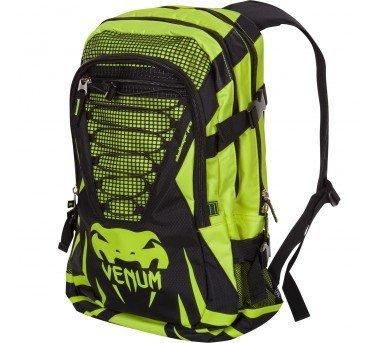 [古川小夫]VENUM挑戰者都市版訓練後背包~VenumMMA經典紀念包電腦包上班背包-螢光綠