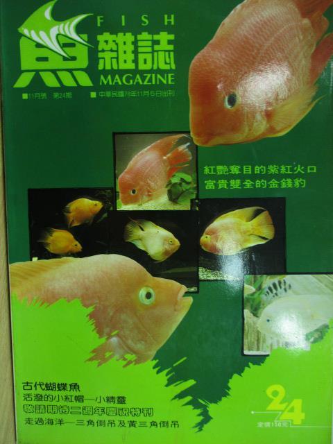 【書寶二手書T1/寵物_YJL】魚雜誌_24期_紅艷奪目的紫紅火口及富貴雙全的金錢豹等
