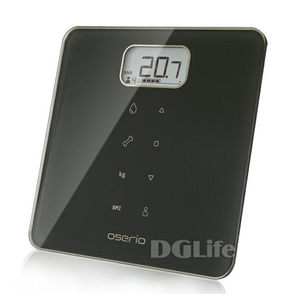 Oserio歐瑟若多功能BMI智能體重計MAG-605(曜石黑)
