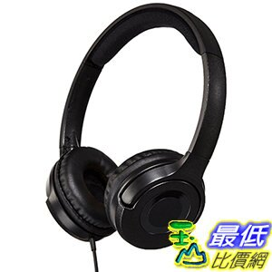 [106美國直購] 耳機 AmazonBasics Lightweight B00NBEWB4U On-Ear Headphones - Black