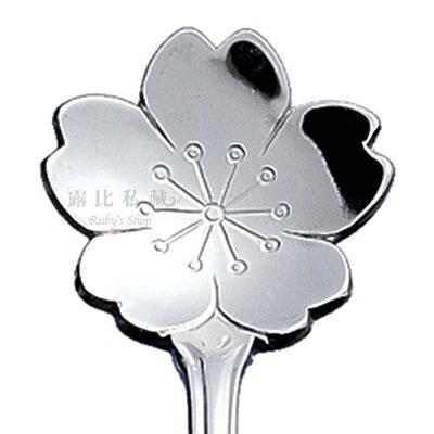 日本不鏽鋼櫻花造型咖啡匙/攪拌匙/小湯匙 x2