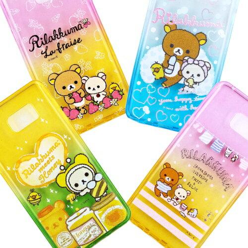 Rilakkuma 拉拉熊 Samsung Galaxy Note 5 N9208 彩繪漸