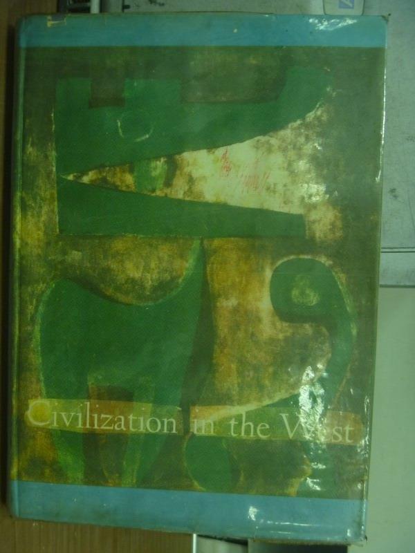 ~書寶 書T2/原文書_PNM~Civilization in the west_1969