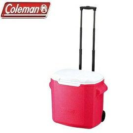 [Coleman]26.5L拖輪置物型冰桶粉紅公司貨CM-0028
