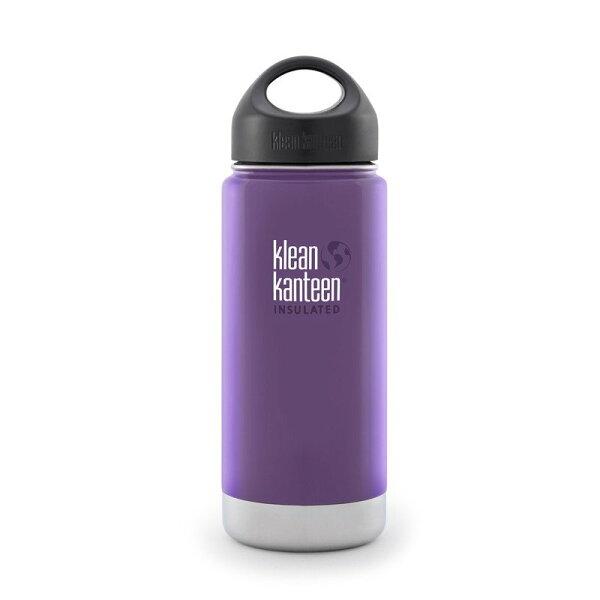 ├登山樂┤美國KleanKanteen寬口保溫鋼瓶16oz473ml紫葡萄#K16VWSSL-WG