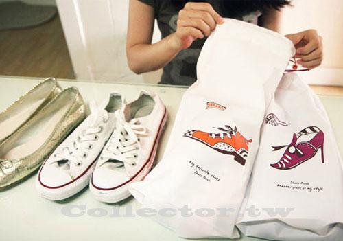 【G13082902】韓國 鞋子束口收納袋 雜物整理袋 2個裝 出差旅行必備推薦款