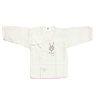 ★衛立兒生活館★【ViVibaby】酷咪兔超柔紗布肚衣-粉60cm