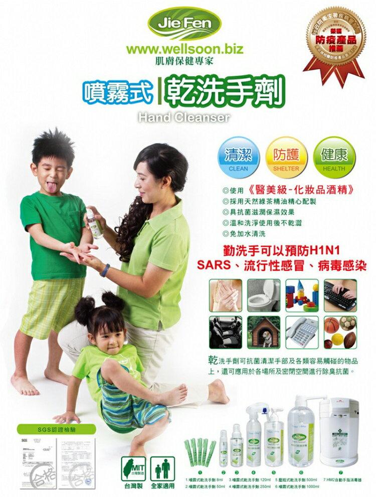 『121婦嬰用品館』潔芬 噴霧式乾洗手劑-500ml填充瓶 1