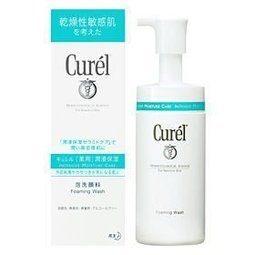 Curel 珂潤 潤浸保濕洗顏慕絲 150ml全新封膜 效期2020【淨妍美肌】