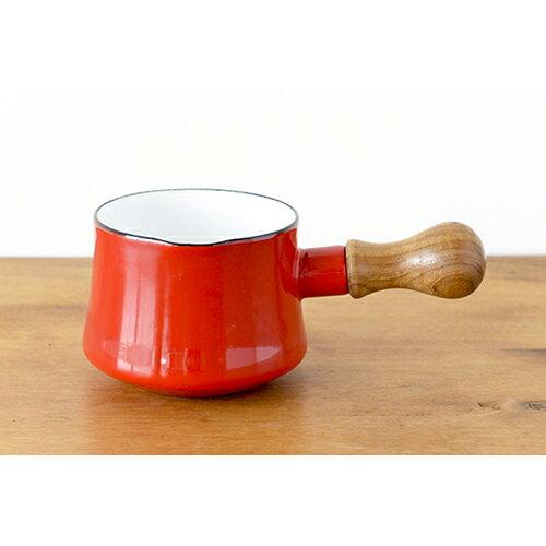 日本 DANSK 琺瑯牛奶鍋 550ml 紅色