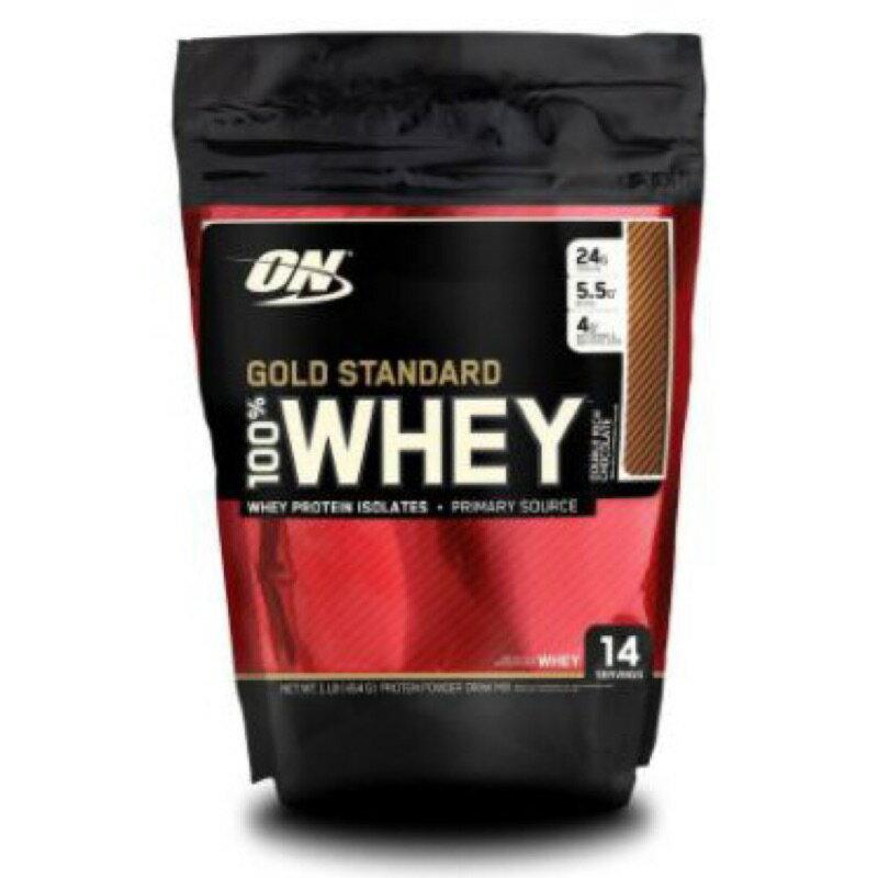 **熱銷** ****ON MT 金牌 巧克力/香草 1磅裝 乳清蛋白  Optimum Nutrition BSN