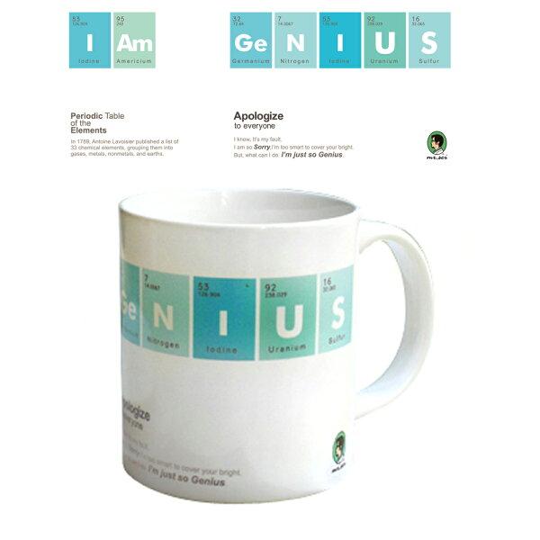 賽先生科學工廠|科學馬克杯系列-我是天才