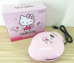 【真愛日本】16040100003KT蛋糕鬆餅機粉   三麗鷗 Hello Kitty 凱蒂貓  鬆餅  蛋糕  點心  廚房電器