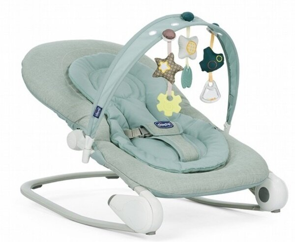 【來電另有優惠】ChiccoHoopla可攜式安撫搖椅薄荷綠【原廠公司貨】2480元